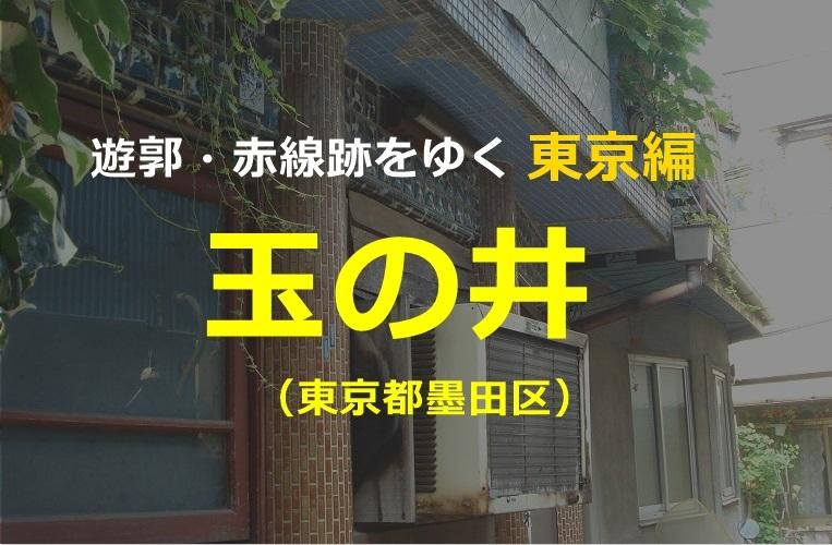 玉の井東京遊郭私娼窟