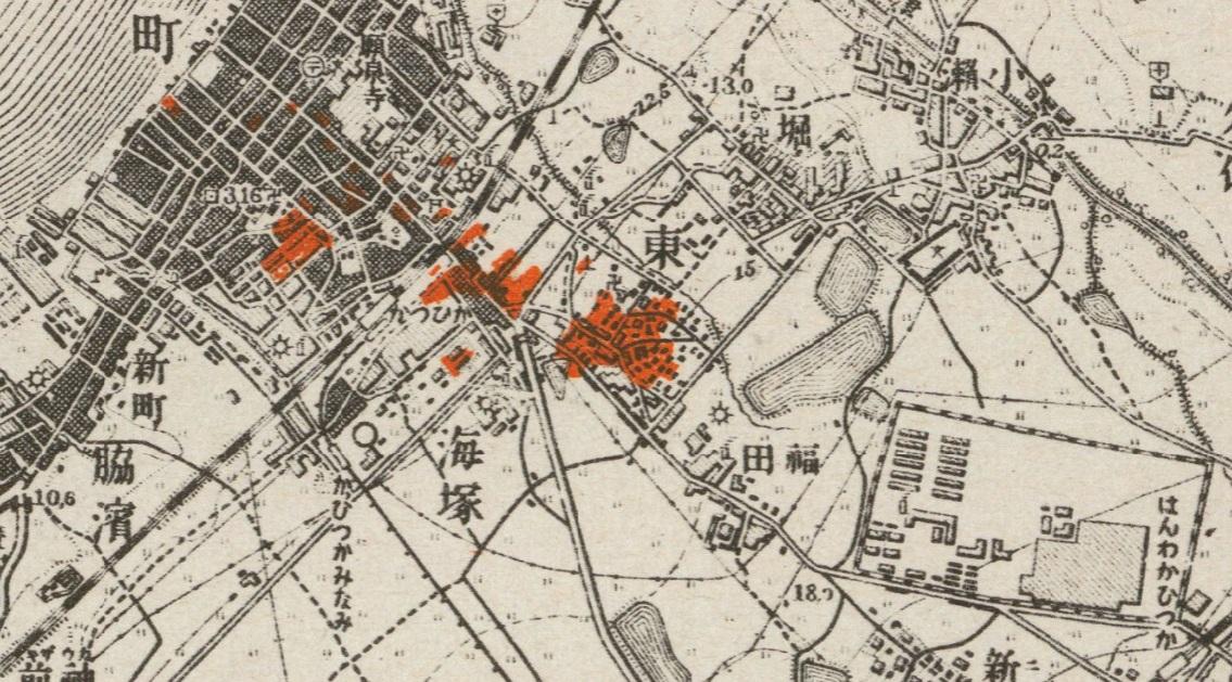 1945貝塚空襲概況国立公文書館