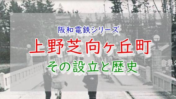 上野芝向ヶ丘町の歴史