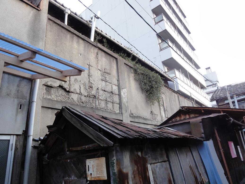飛田嘆きの壁