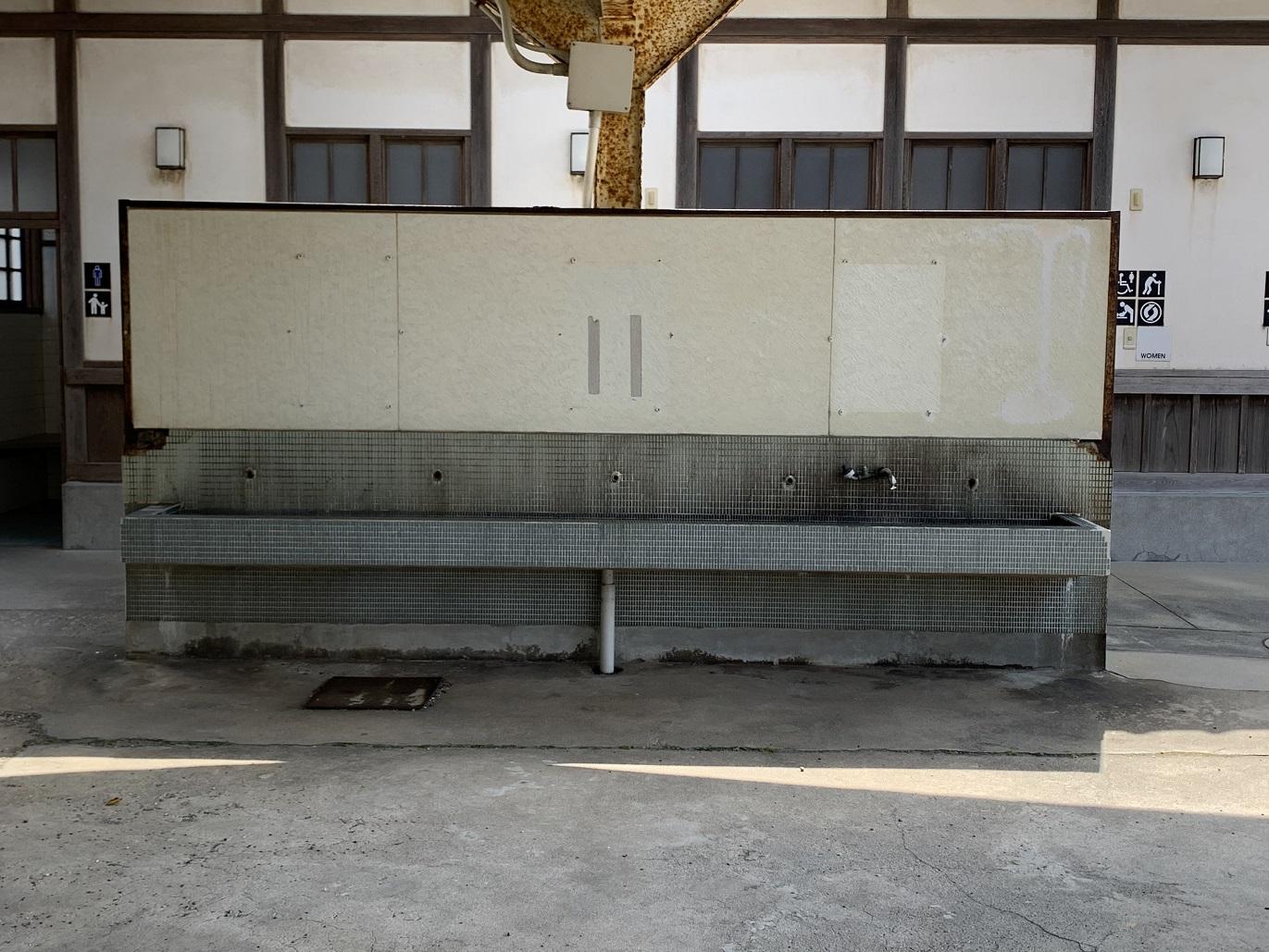 旧大社駅の水飲み場