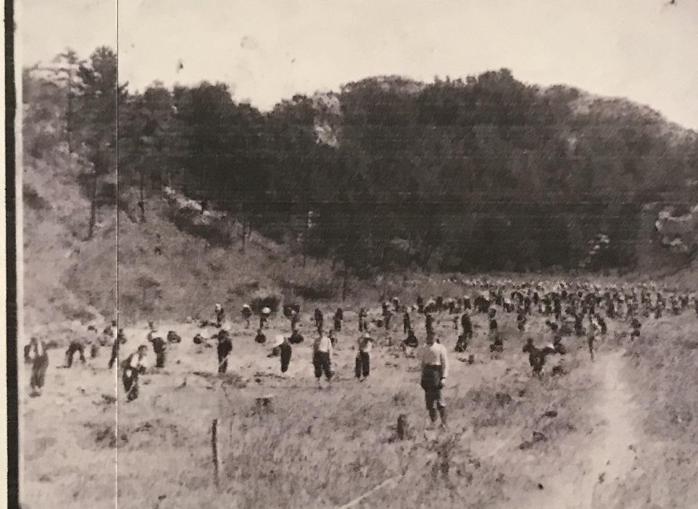 戦時中の砂川遊園