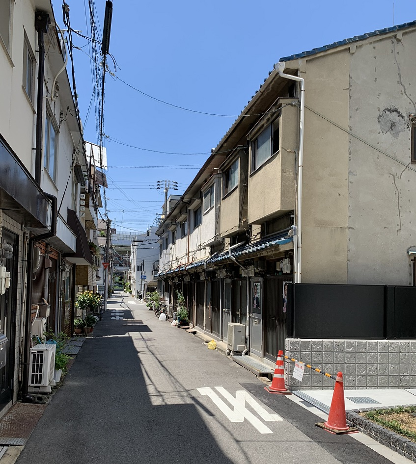 大阪市港区港新地赤線