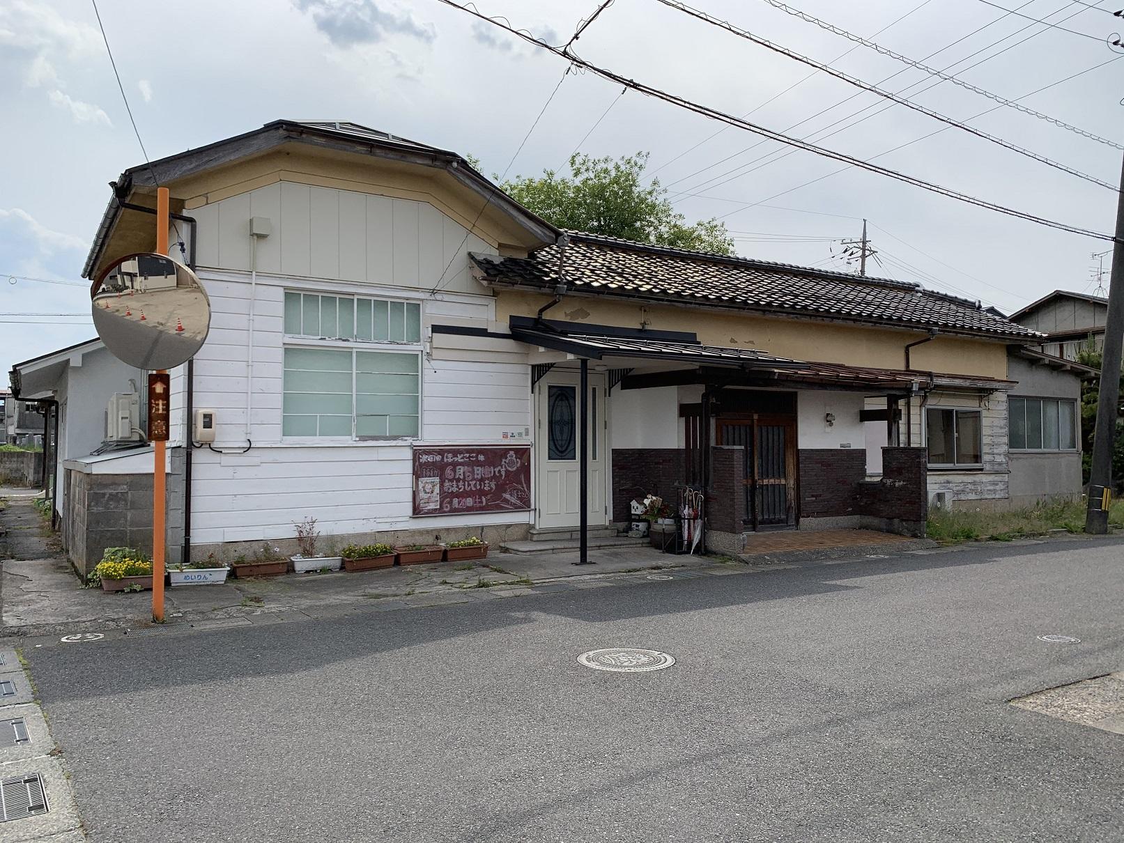 旧倉吉新地遊廓中倉医院