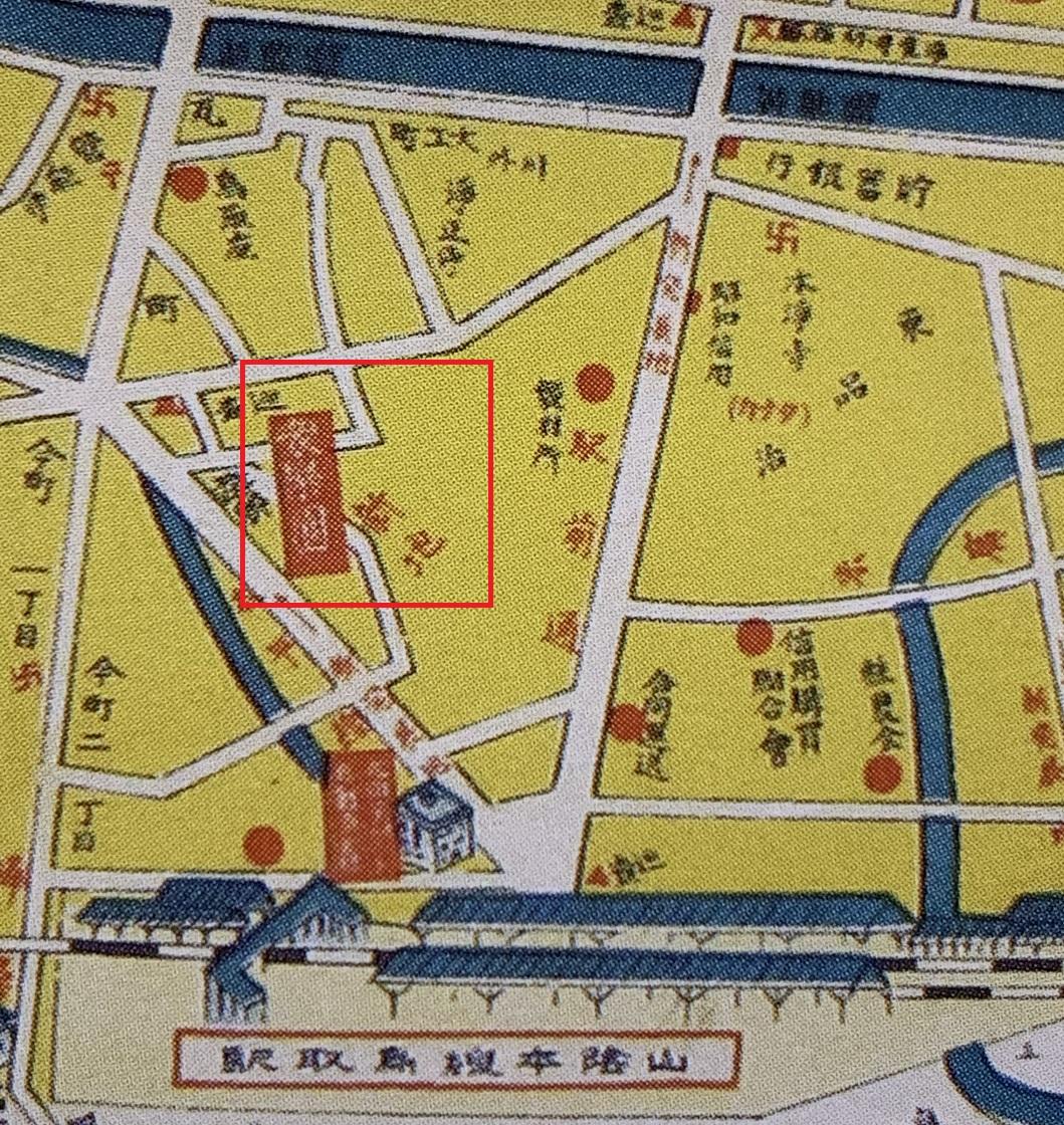 1937鳥取市地図