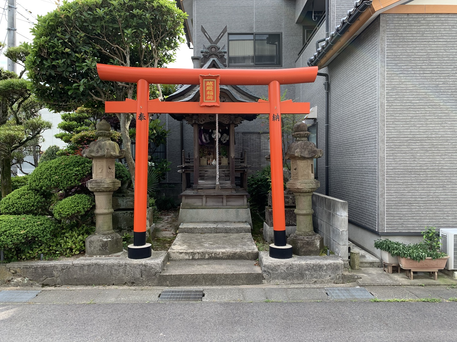 2020倉吉新地遊廓稲荷神社1