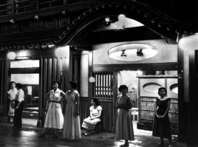 赤線時代の飛田新地の店