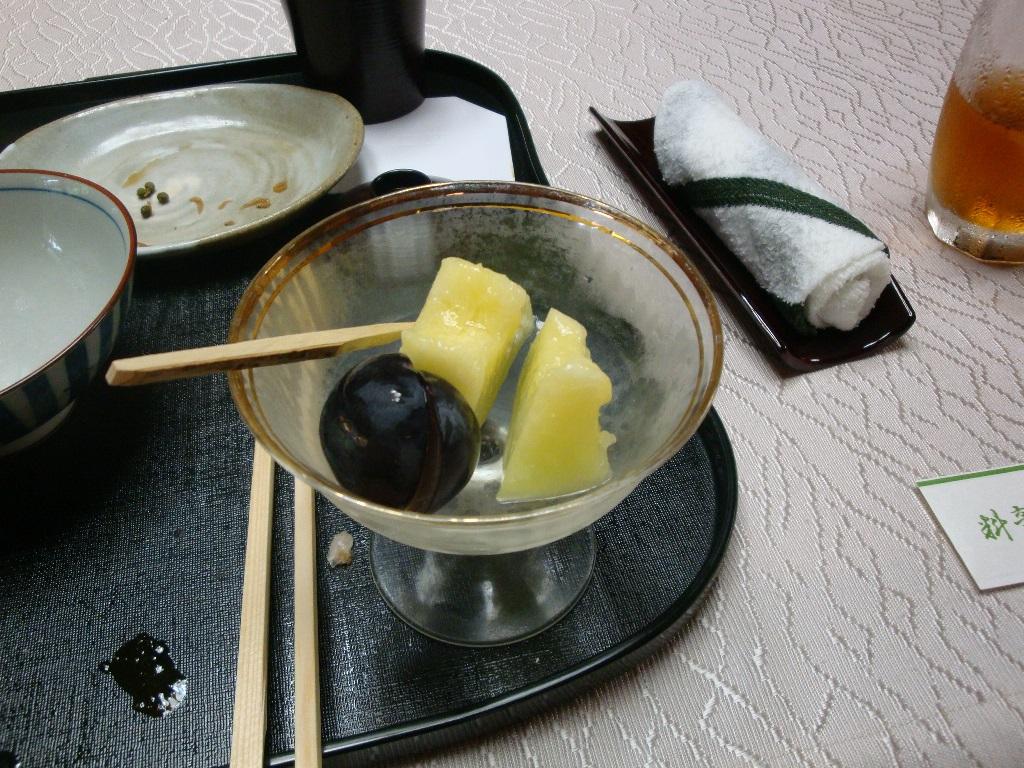 料亭深川料理デザート