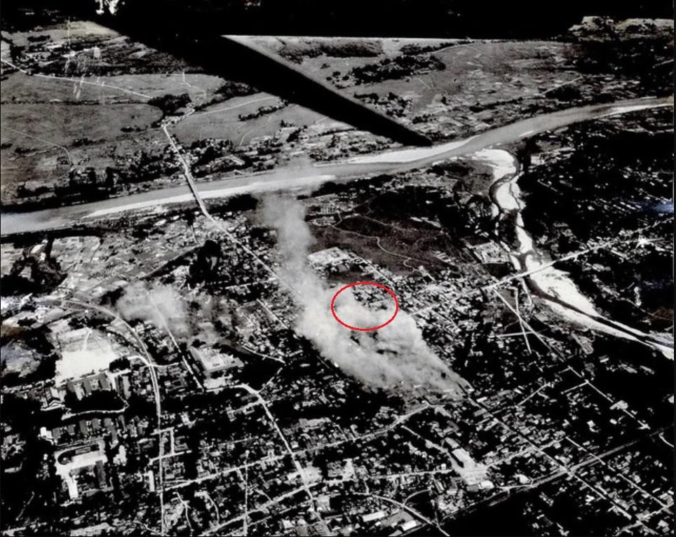 1945花巻空襲写真