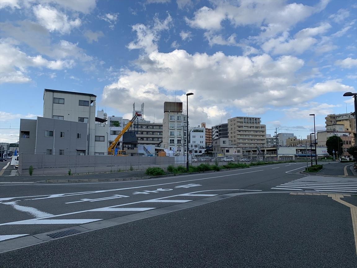 姫路モノレール大将軍駅跡2020