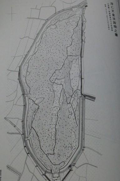 淳仁天皇陵陵墓地形図集成