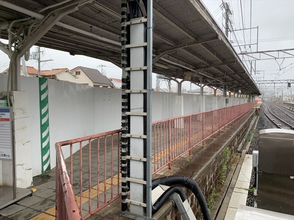 浜寺公園駅5番線