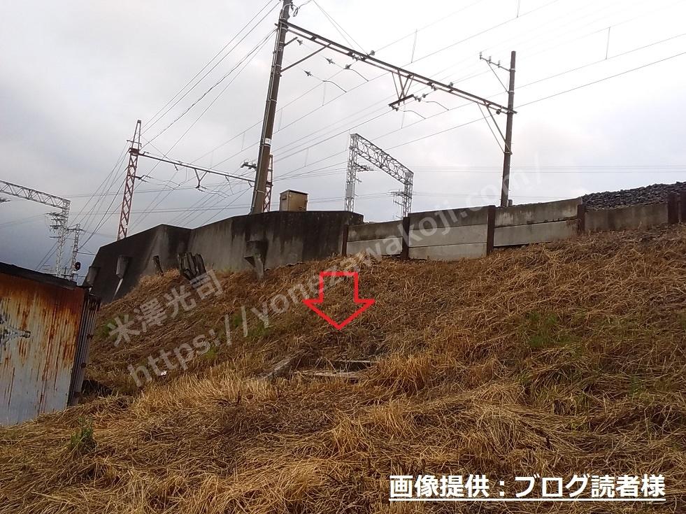 海道畑電停の階段