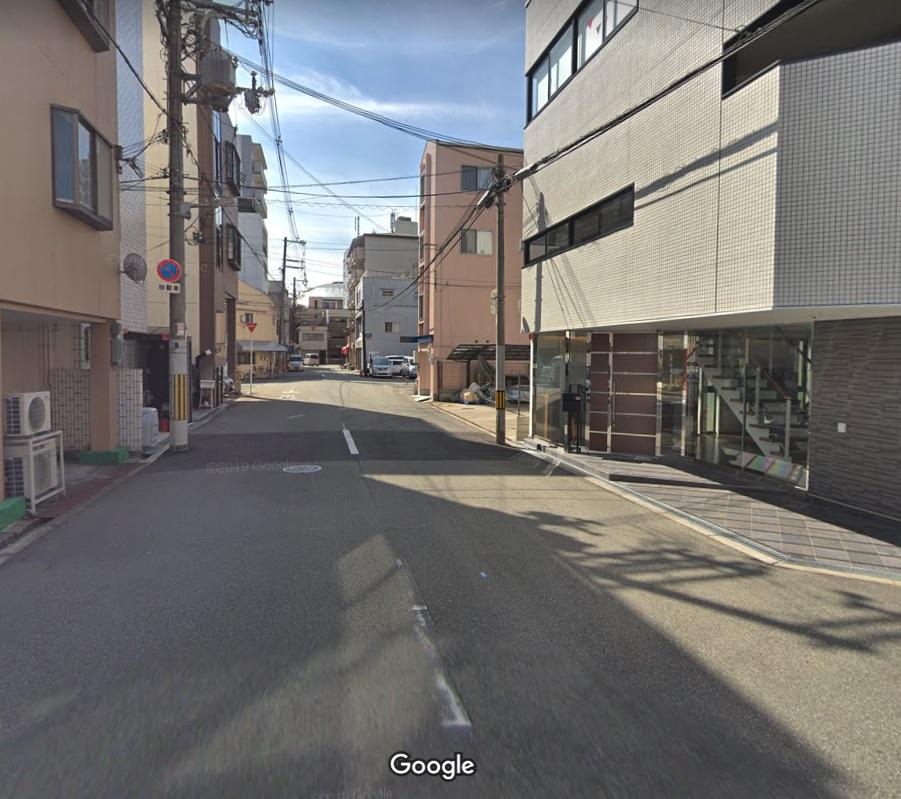 大阪松島遊郭桜筋跡