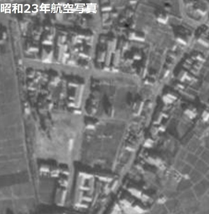 1948宇都宮遊郭航空写真