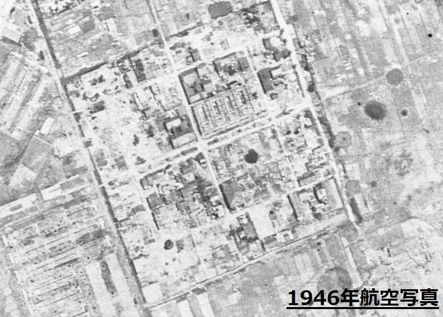 空襲で焼けた戦後の稲永遊郭