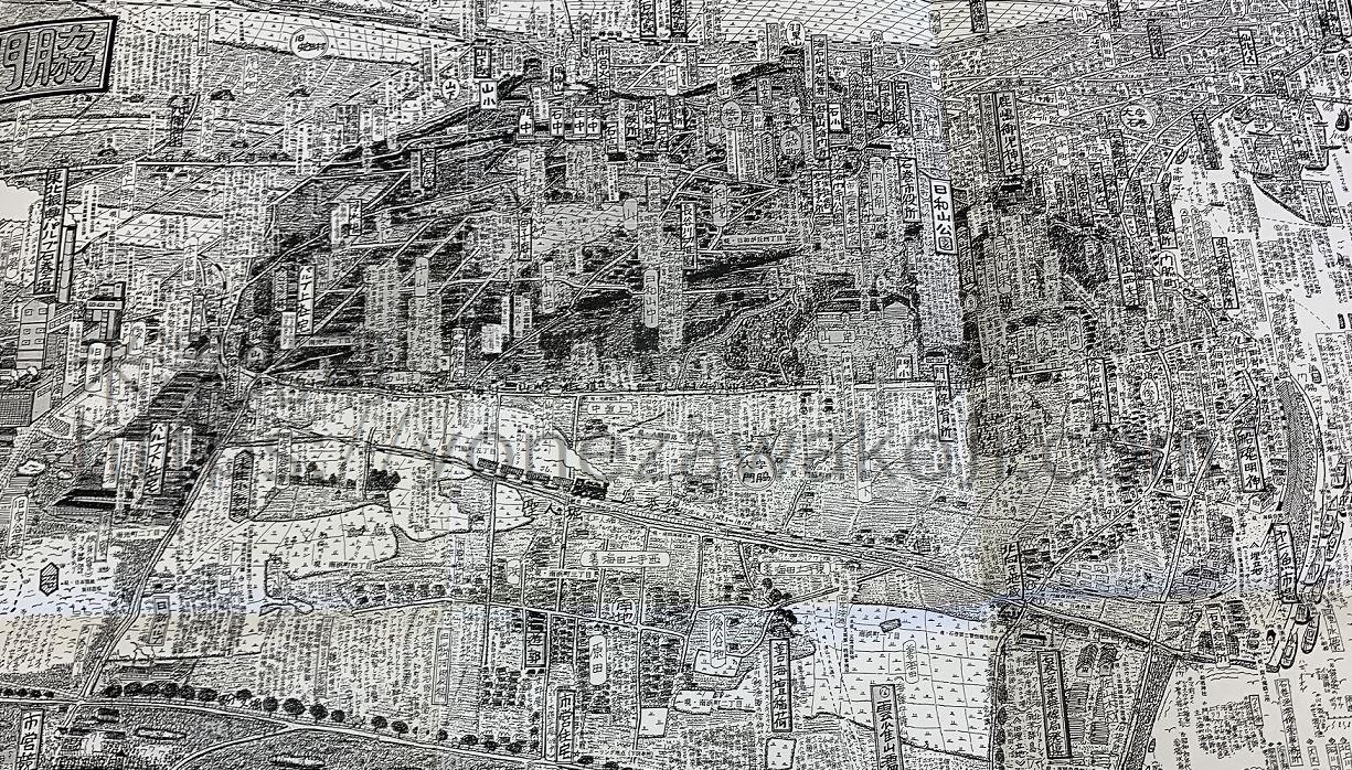 石巻門脇戦後地図