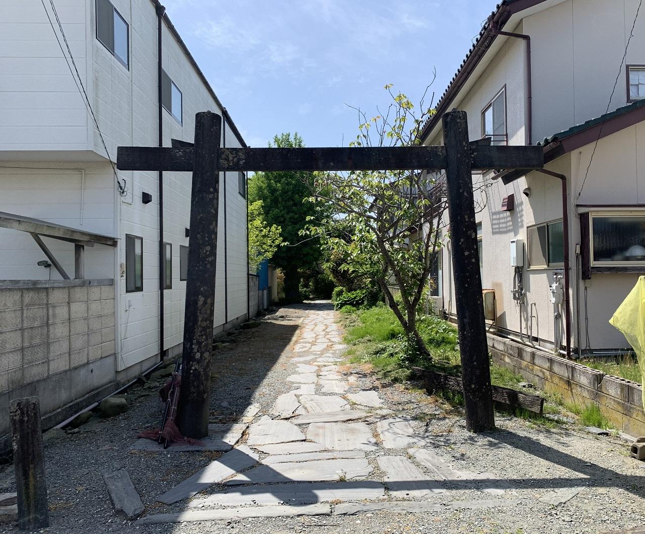 石巻遊郭松尾神社