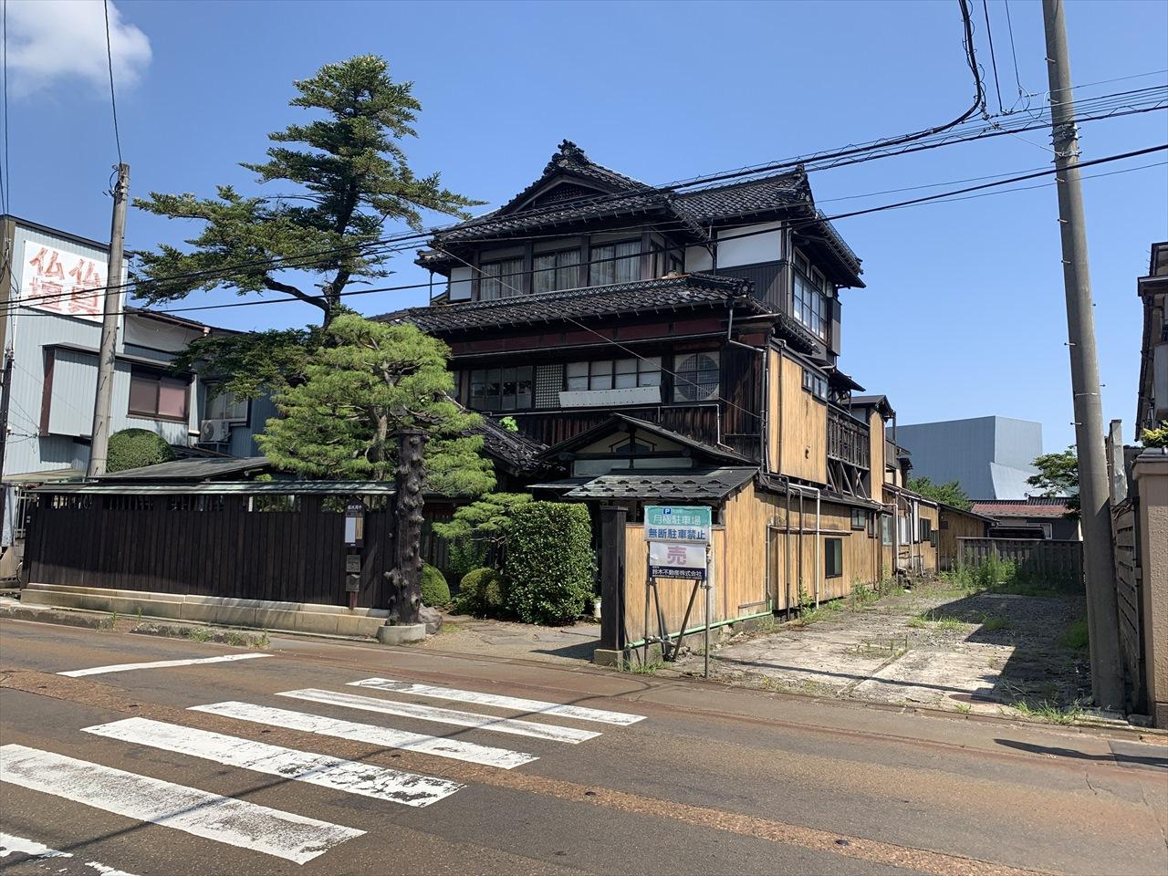 鶴岡の料亭三浦屋